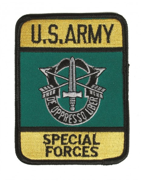 Retro Patch US Army Special Forces