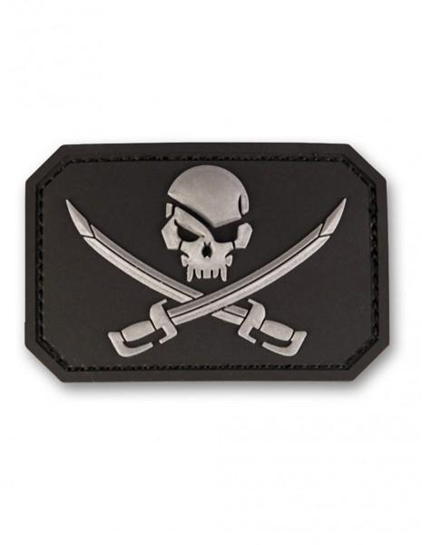 3D PVC Gusarska Piratska Oznaka Skull Jolly Roger 16832202 Popust