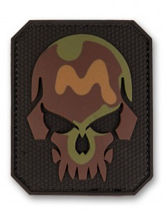 3D PVC Oznaka Velcro Skull Camouflage Large Akcija 16832120