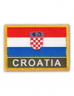 Vojna Oznaka Za Rukav Croatia Hrvatska Zastava Color