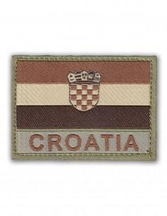 Military Army Patch Croatia Flag Velcro Multicam