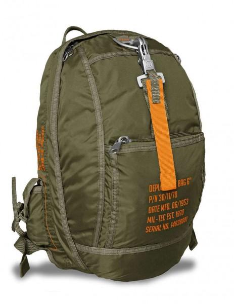 Miltec 14039001 Padobranski Vojni Gradski Ruksak Deployment Bag 6 Olive