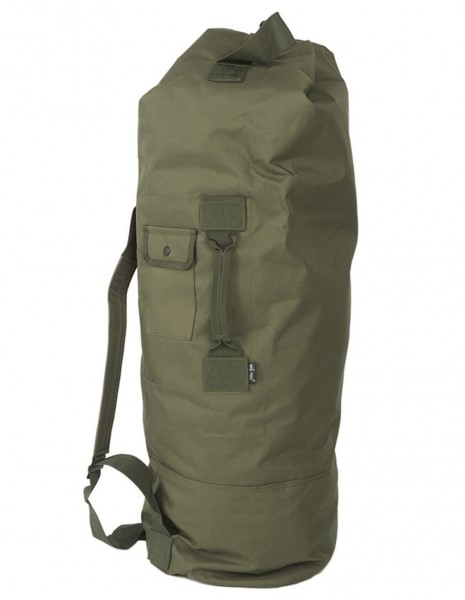 US Duffle Combat Navy Army Bag Double Strap Olive 13853101 Sale