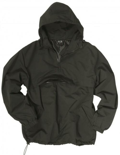 MIltec Anorak Waterproof Windbreaker Jacket Light Black Sale Discount 10332002