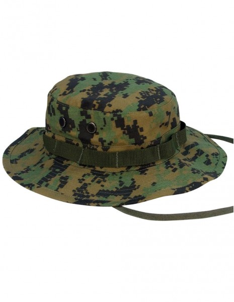 USGI Outdoor Boonie Hiking Hunting Light Summer Hat Digital Woodland 12325071 Sale