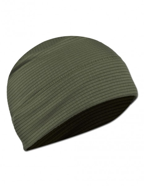 Beanie Quick Dry Grid Fleece Winter Hiking Sports Cap Olive Sale 12144001