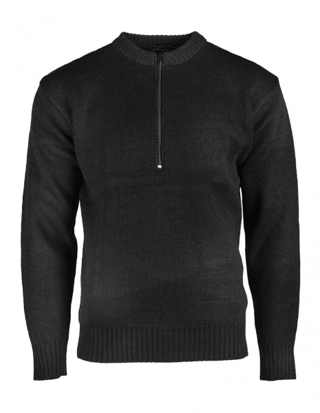 Miltec Winter Sweater Swiss Army Black 10809502 Sale