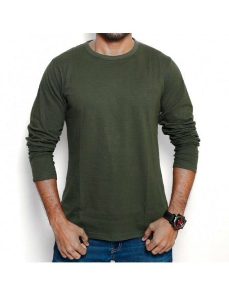 Miltec Long Sleeve T-Shirt US Style Olive Army 11065001 Sale