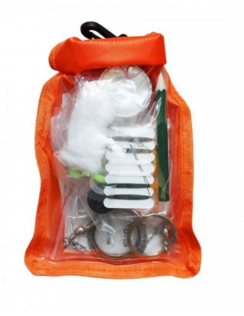 Vodootporni Survival Komplet Za Preživljavanje Orange Small