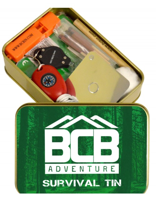 BCB Bushcraft Adventure Survival Tin ADV069 Akcija