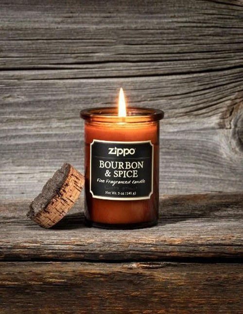 Zippo Spirit Scented Candle Bourbon & Spice 70008