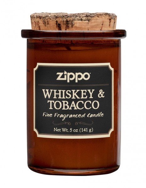 Zippo Spirit Scented Candle Whiskey & Tobacco 70006