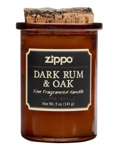 Zippo Spirit Scented Candle Dark Rum & Oak 70007