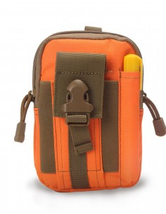 Phone Molle Belt Pouch Orange