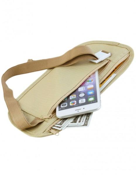 Hidden Money Belt Waist Bag Khaki Sale