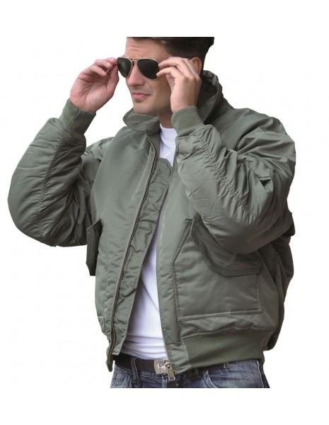 Original Waterproof Flight Jacket CWU 45 Olive 10404501