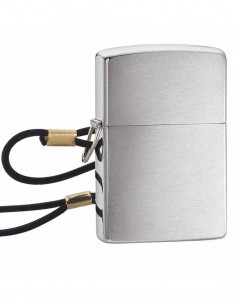 Original Zippo Upaljač Lossproof Lanyard Brushed Chrome 275 Akcija