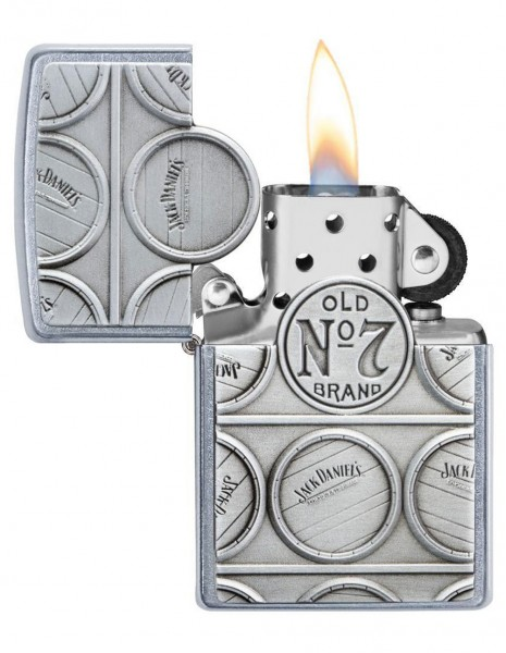Zippo Lighter Jack Daniels Barell 29817