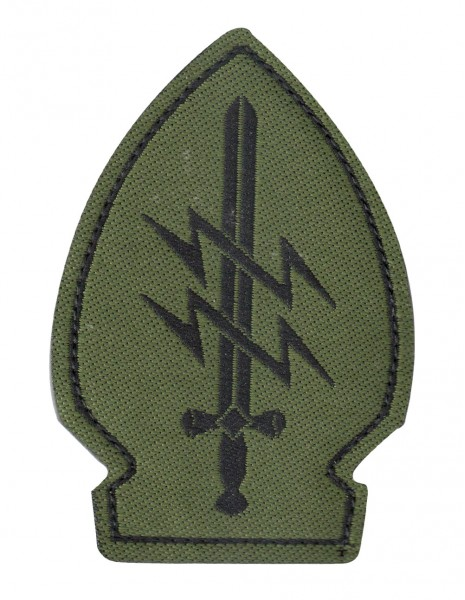 Patch Velcro  Special Forces Olive 2 Lighting Bolts