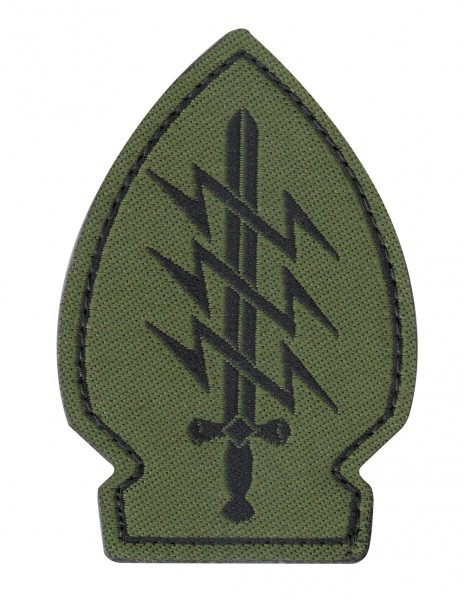 Patch Velcro  Special Forces Olive 3 Lighting Bolts