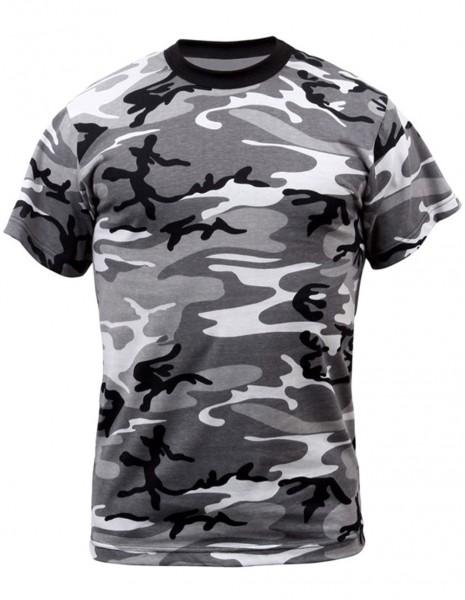 Miltec 11012022  Camouflage T-Shirt Cotton Urban Camo