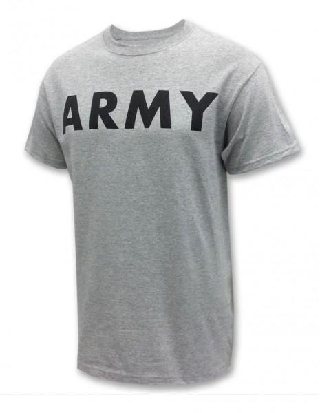 Miltec Training Gym T-Shirt Army Logo Gray 11063008 Sale