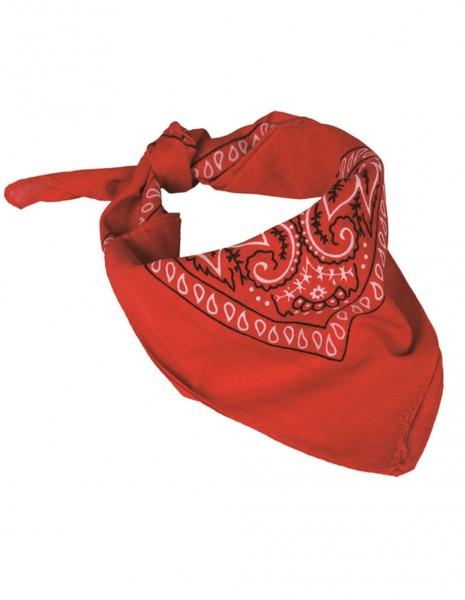 Scarf Bandana Western Red 12620010
