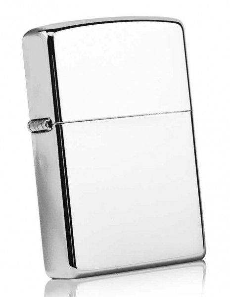 Original Zippo Lighter High Polish Chrome 250