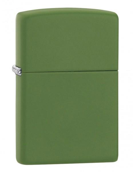 Original Zippo Lighter Moss Green Matte 228