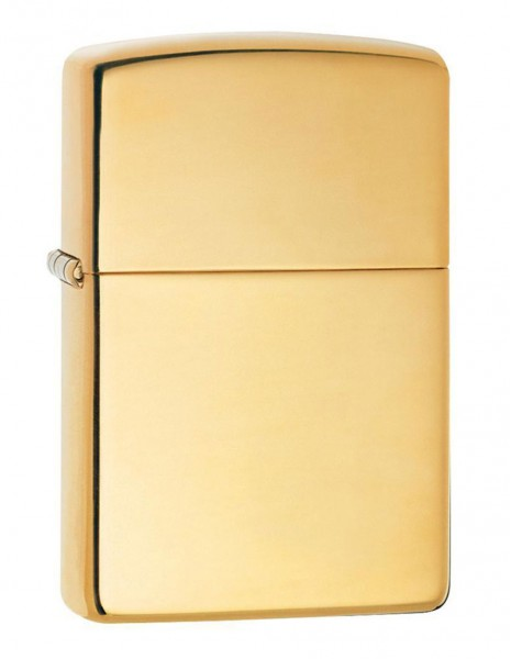 Original Zippo Lighter High Polish Brass 254B Sale Discount