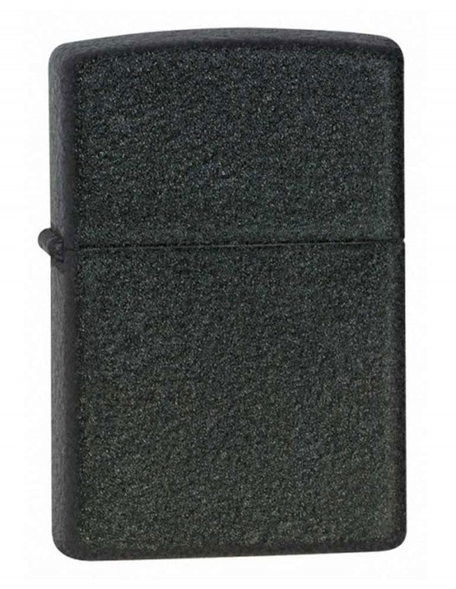 Original Zippo Lighter Classic Black Crackle 236